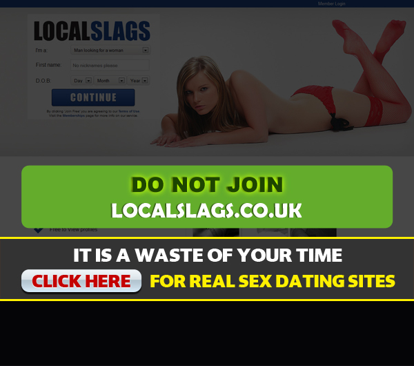 localslags.co.uk screen shot for homepage