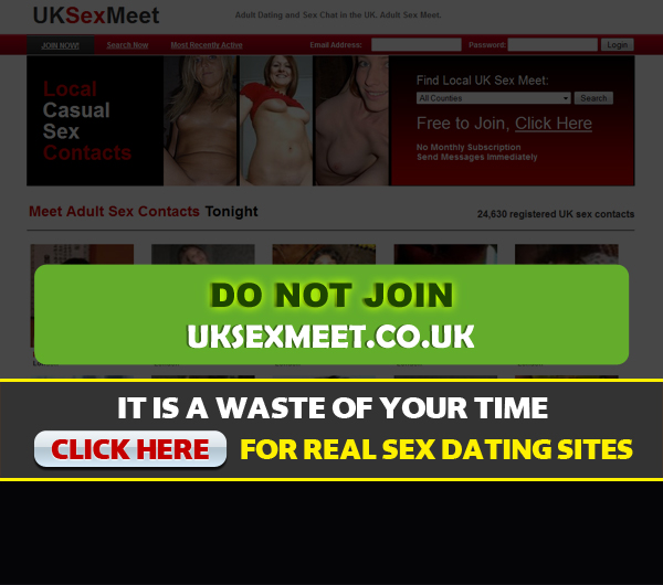 uksexmeet.co.uk screen shot for homepage