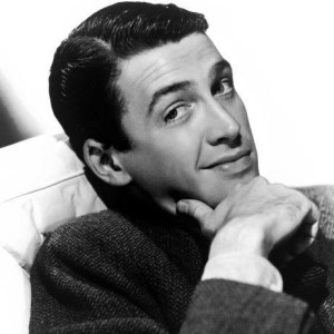 """A shot of Jimmy Stewart from one of his movies"""