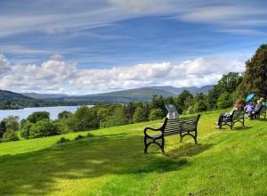 """A view at Loch Lomond"""